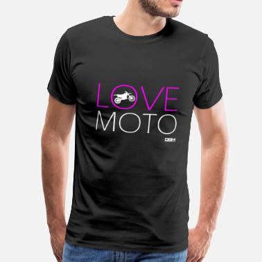 Moto Love Love Moto - Men's Premium T-Shirt