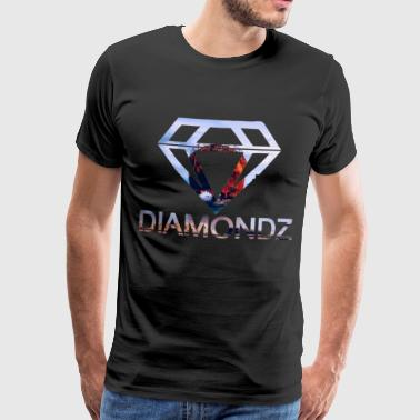 Diamant Strand Ship Diamondz Diamond Fashion T-shirt - Herre premium T-shirt