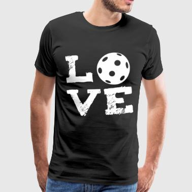 AMOR - hockey sobre césped interior Hockey Floorball - Camiseta premium hombre