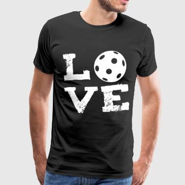 Field Hockey I Love Hockey LOVE - field hockey Indoor Hockey Floorball - Men's Premium T-Shirt