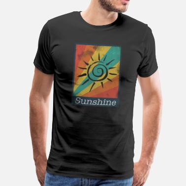 Rainbow Sunshine Sunshine picture - Men's Premium T-Shirt