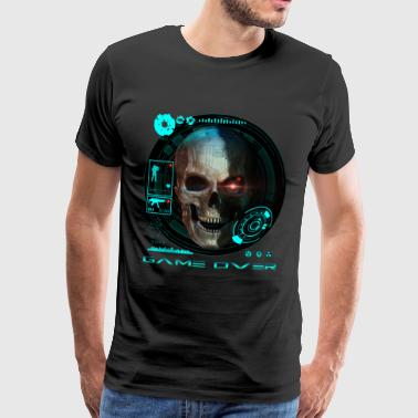 Croix Game Over - T-shirt Premium Homme