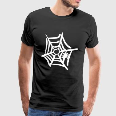 Spiderweb Gift Halloween Spider Gothic Goth - Men's Premium T-Shirt