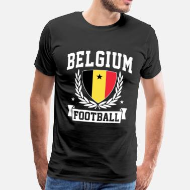 Belgium Football belgium football - Men's Premium T-Shirt