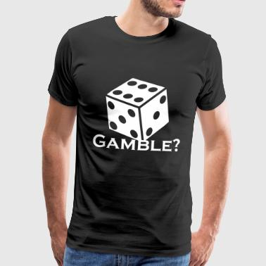 Casino Casino Gamble - Dice - Men's Premium T-Shirt