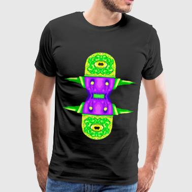 Monster of hallucinations - Men's Premium T-Shirt