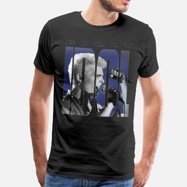 Idol IDOL Billy Idol - Männer Premium T-Shirt
