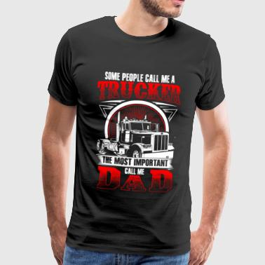 Trucker Dad - EN - Men's Premium T-Shirt