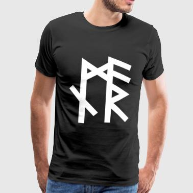 Asgard Armin - Name Rune - First Name - Binderune - Men's Premium T-Shirt