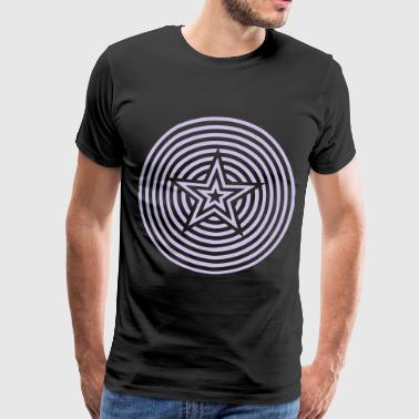Star Circle Star & Circles - Men's Premium T-Shirt