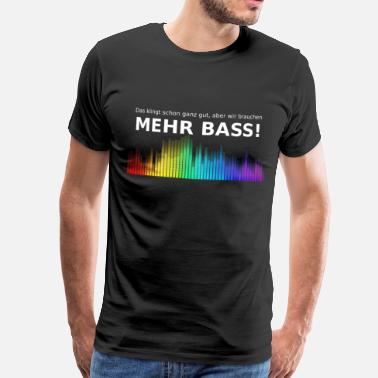 Contra Bass More bass - Men's Premium T-Shirt