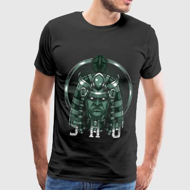 God of the air Shu Egyptian Egypt deity - Men's Premium T-Shirt