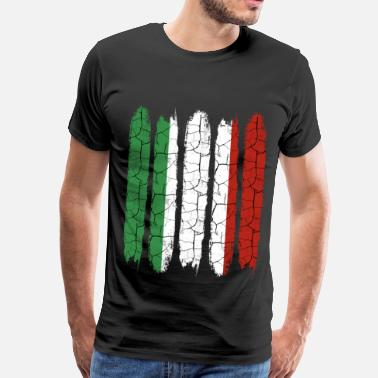 Italy Rome Trendy Italy national colors | Modern gift - Men's Premium T-Shirt