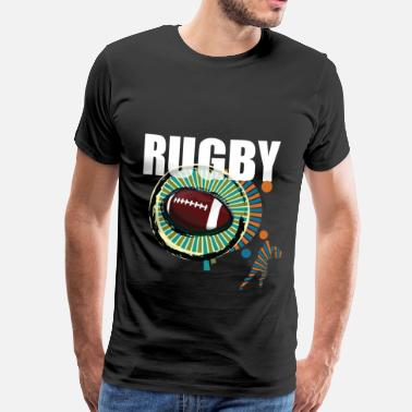 Rugby rugby - Premium-T-shirt herr