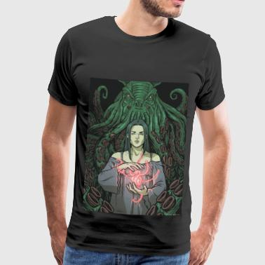 Lovecraft - 01 - Herre premium T-shirt