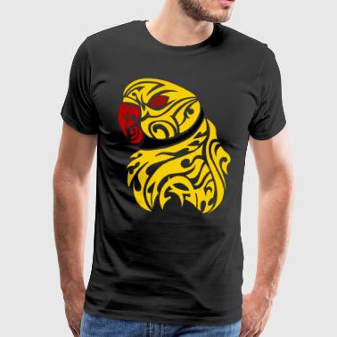 Lutino ringneck tattoo - Men's Premium T-Shirt