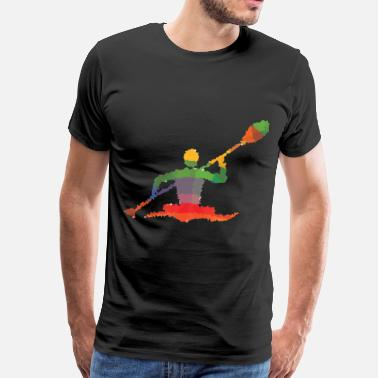 Canoe Polo Kanut - Men's Premium T-Shirt