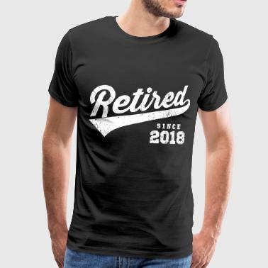 Retired Since 2018 - Männer Premium T-Shirt