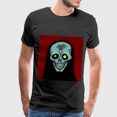 Jorge Ghost skull - Men's Premium T-Shirt