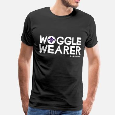 Boy Scouts Woggle Wearer - Men's Premium T-Shirt