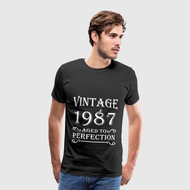 Vintage 1987 - Aged to perfection - T-shirt Premium Homme