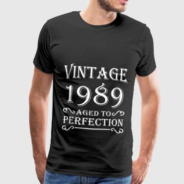 Vintage 1989 - Aged to perfection - T-shirt Premium Homme