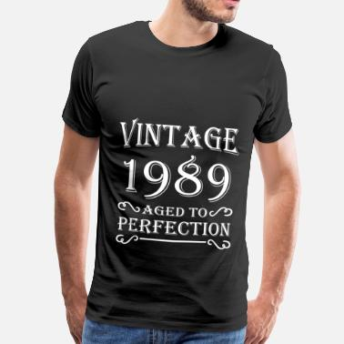 Aged To Perfection Vintage 1989 - Aged to perfection - Mannen Premium T-shirt