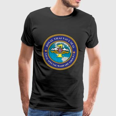 Navy Seal Rescue Diver - Men's Premium T-Shirt