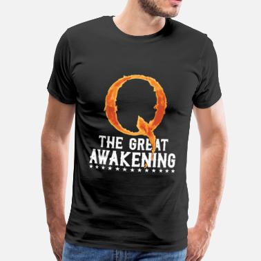 Great Super Cool Awesome Q The Great Awakening - Men's Premium T-Shirt