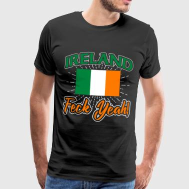 Lucia Ireland Shamrock Saint Patricks Day Gift - Men's Premium T-Shirt