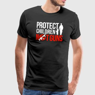 Anti Weapons Laws Protect Children Not Weapons - Men's Premium T-Shirt