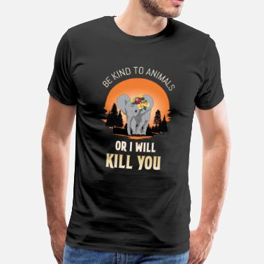 Protect Animals Be Kind to Animals Animal Protection Animal - Men's Premium T-Shirt