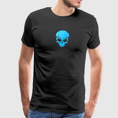skull, death, human, skull, pirate, devil, alien,  - Men's Premium T-Shirt