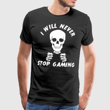 Gamer Gaming Computer Console Online Gift - Men's Premium T-Shirt