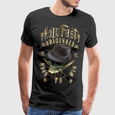 Hold Fast Road to Win color - Männer Premium T-Shirt