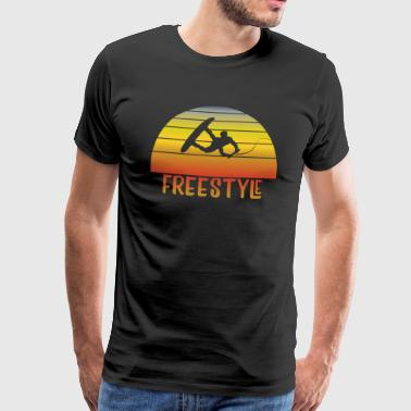 Wakeboarder freestyle - Men's Premium T-Shirt