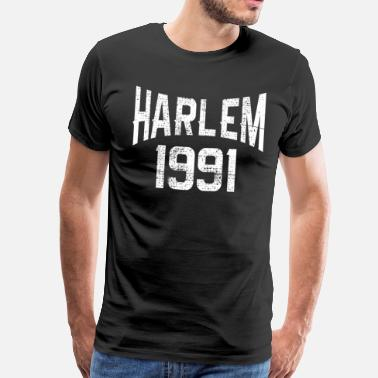 Big Apple HARLEM NEW YORK 1991 - Premium T-skjorte for menn