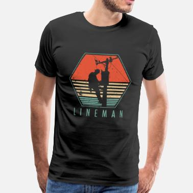 Lineman Lineman - Men's Premium T-Shirt