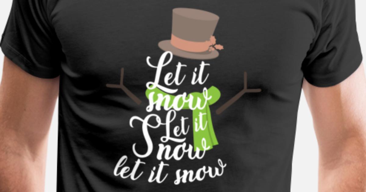 Lassen Sie es schneien Weihnachtstag-Weihnachtsabend-Weihnachtsfeier ...