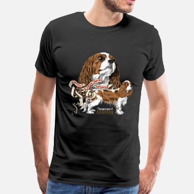 Cavalier king Charles - Men's Premium T-Shirt