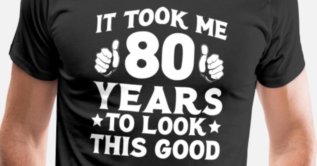 94 80th Birthday Shirt Designs