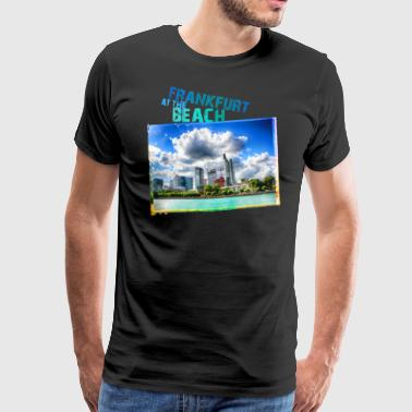 Frankfurt at the Beach - Männer Premium T-Shirt