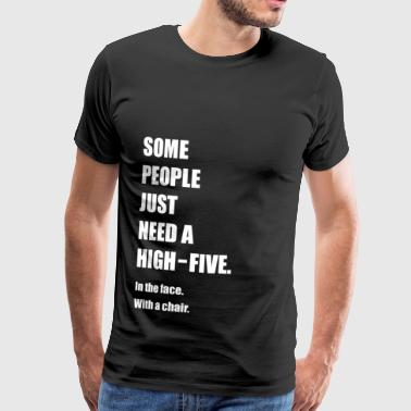 F1 Funny, Funny, Funny, Funny saying - Men's Premium T-Shirt