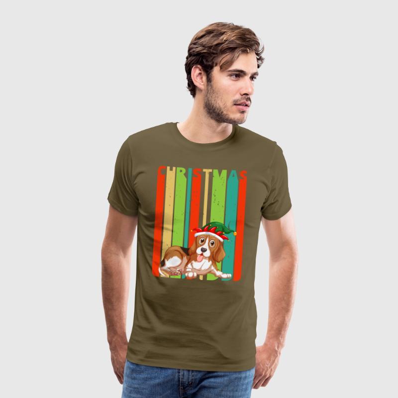 Retro Weihnachtsgeschenke für Freunde und Familie. Hund. von ...