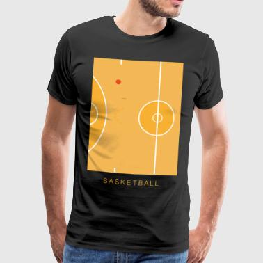 Basketball art - Men's Premium T-Shirt