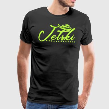 Sure Jet Ski - Jet Ski (green) - Men's Premium T-Shirt