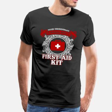 First Aid No woman with first aid kit - Men's Premium T-Shirt
