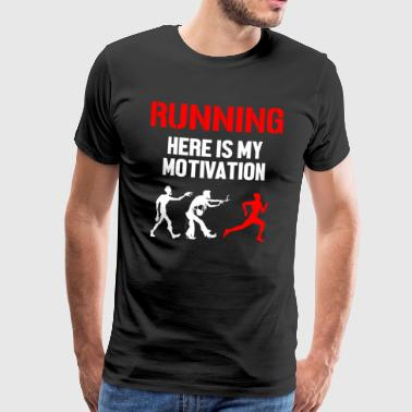 My motivation to run - Men's Premium T-Shirt