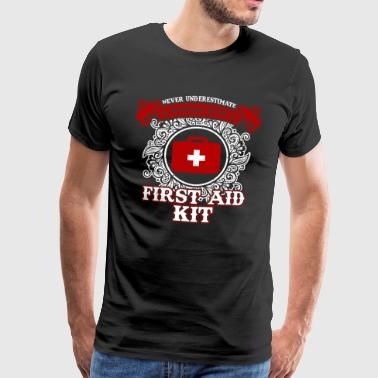 No woman with first aid kit - Men's Premium T-Shirt