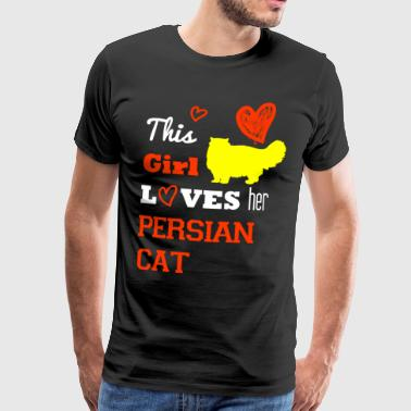 chat persan - T-shirt Premium Homme